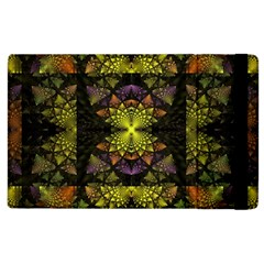 Fractal Multi Color Geometry Apple Ipad 3/4 Flip Case by Celenk