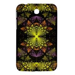 Fractal Multi Color Geometry Samsung Galaxy Tab 3 (7 ) P3200 Hardshell Case  by Celenk