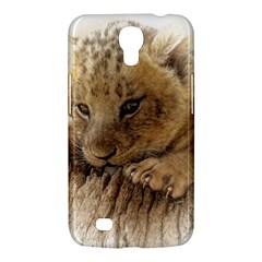 Lion Cub Close Cute Eyes Lookout Samsung Galaxy Mega 6 3  I9200 Hardshell Case by Celenk