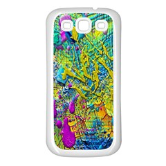 Background Art Abstract Watercolor Samsung Galaxy S3 Back Case (white) by Celenk