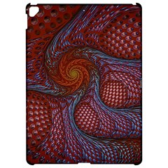 Fractal Red Fractal Art Digital Art Apple Ipad Pro 12 9   Hardshell Case by Celenk