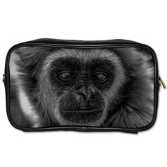 Gibbon Wildlife Indonesia Mammal Toiletries Bags 2 Side by Celenk