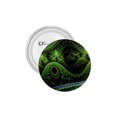 Fractal Green Gears Fantasy 1 75  Buttons by Celenk