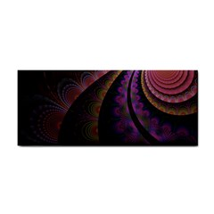 Fractal Colorful Pattern Spiral Cosmetic Storage Cases by Celenk