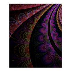 Fractal Colorful Pattern Spiral Shower Curtain 60  X 72  (medium)  by Celenk