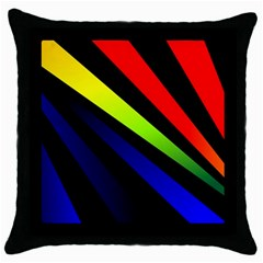 Graphic Design Computer Graphics Throw Pillow Case (black) by Celenk