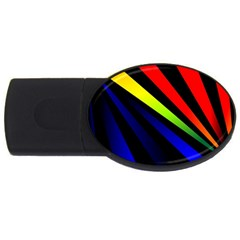 Graphic Design Computer Graphics Usb Flash Drive Oval (4 Gb) by Celenk