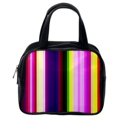 Abstract Background Pattern Textile 2 Classic Handbags (one Side)