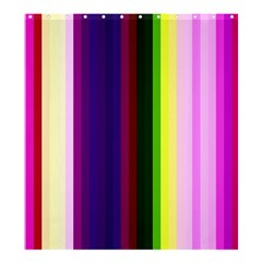 Abstract Background Pattern Textile 2 Shower Curtain 66  X 72  (large)