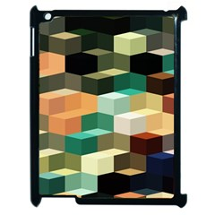 Art Design Color Pattern Creative 3d Apple Ipad 2 Case (black) by Celenk