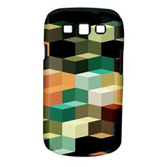 Art Design Color Pattern Creative 3d Samsung Galaxy S Iii Classic Hardshell Case (pc+silicone) by Celenk