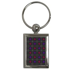 Funds Texture Pattern Color Key Chains (rectangle)