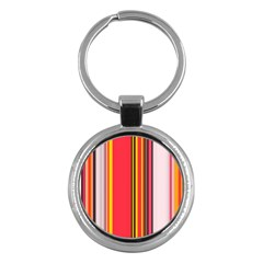 Abstract Background Pattern Textile Key Chains (round)  by Celenk