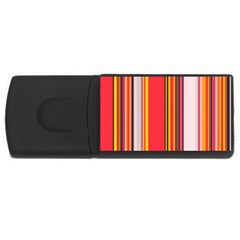 Abstract Background Pattern Textile Rectangular Usb Flash Drive