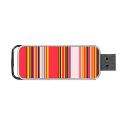 Abstract Background Pattern Textile Portable Usb Flash (two Sides) by Celenk