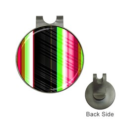 Abstract Background Pattern Textile Hat Clips With Golf Markers by Celenk