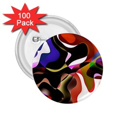Abstract Background Design Art 2 25  Buttons (100 Pack)