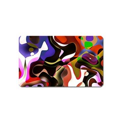 Abstract Background Design Art Magnet (name Card) by Celenk