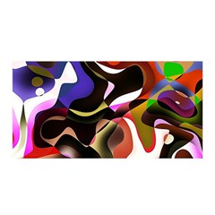 Abstract Background Design Art Satin Wrap