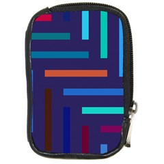 Lines Line Background Abstract Compact Camera Cases