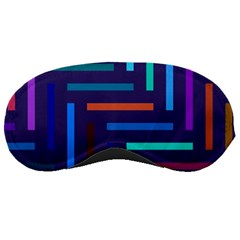 Lines Line Background Abstract Sleeping Masks