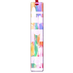 Watercolour Paint Dripping Ink Large Book Marks by Celenk