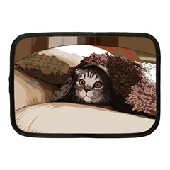 Cat Kitten Cute Pet Blanket Sweet Netbook Case (medium)  by Celenk