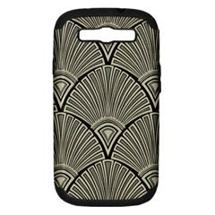 Art Nouveau Samsung Galaxy S Iii Hardshell Case (pc+silicone) by 8fugoso