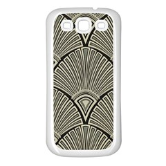 Art Nouveau Samsung Galaxy S3 Back Case (white) by 8fugoso