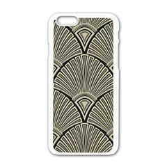 Art Nouveau Apple Iphone 6/6s White Enamel Case by 8fugoso