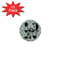 Rustic Love 1  Mini Buttons (10 Pack)  by 8fugoso
