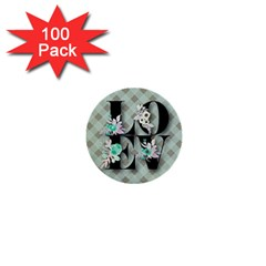 Rustic Love 1  Mini Buttons (100 Pack)  by 8fugoso