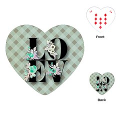 Rustic Love Playing Cards (heart)  by 8fugoso