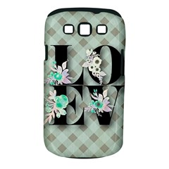 Rustic Love Samsung Galaxy S Iii Classic Hardshell Case (pc+silicone) by 8fugoso