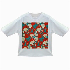 Floral Asian Vintage Pattern Infant/toddler T Shirts by 8fugoso
