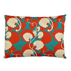 Floral Asian Vintage Pattern Pillow Case by 8fugoso