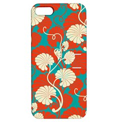 Floral Asian Vintage Pattern Apple Iphone 5 Hardshell Case With Stand by 8fugoso