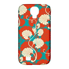 Floral Asian Vintage Pattern Samsung Galaxy S4 Classic Hardshell Case (pc+silicone) by 8fugoso