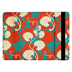 Floral Asian Vintage Pattern Samsung Galaxy Tab Pro 12 2  Flip Case by 8fugoso
