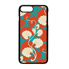 Floral Asian Vintage Pattern Apple Iphone 8 Plus Seamless Case (black)