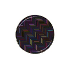 Lines Line Background Hat Clip Ball Marker (10 Pack)