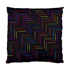 Lines Line Background Standard Cushion Case (one Side) by Celenk