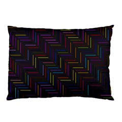 Lines Line Background Pillow Case (two Sides)