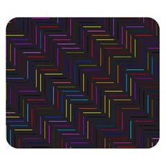 Lines Line Background Double Sided Flano Blanket (small)