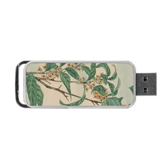Vintage Watercolour Watercolor Portable Usb Flash (one Side) by Celenk