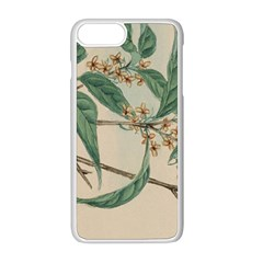 Vintage Watercolour Watercolor Apple Iphone 8 Plus Seamless Case (white)