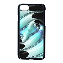 Background Pattern Jewellery Apple Iphone 8 Seamless Case (black) by Celenk