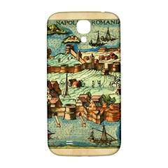 Medeival Ancient Map Fortress Samsung Galaxy S4 I9500/i9505  Hardshell Back Case