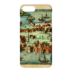 Medeival Ancient Map Fortress Apple Iphone 8 Plus Hardshell Case