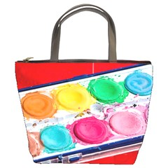Palette Brush Paint Box Color Bucket Bags